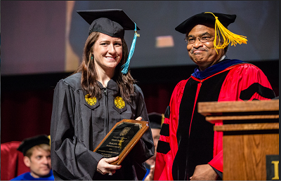 CEPS MA Student Wins Loyola Thesis of Year Award
