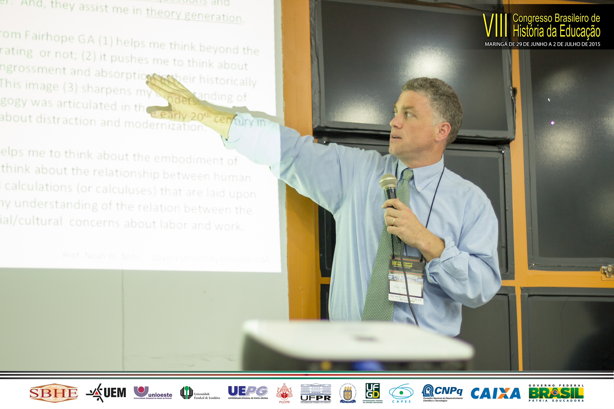 Prof. Sobe Delivers Keynote Address at Brazilian History of Education Conference