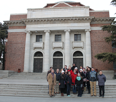 Loyola SOE master's students in Beijing, China