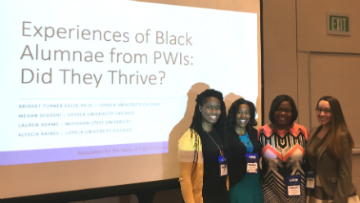 Experiences from Black Alumnae at Predominantly White Institutions: Did They Thrive?