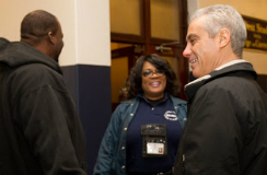 Mayor Emanuel Visits Lovett Elementary School