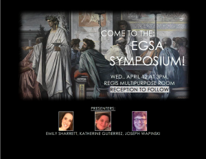 9th Annual EGSA Symposium