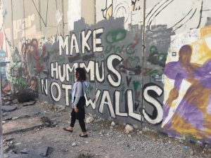 "Palestine: ""Make Hummus Not Walls"""