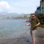 Me on the Beach in Sorrento