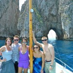 Group on a Boat in Capri
