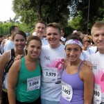 After the 5k for Breast Cancer