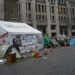 Tents of the Occupy London Movement