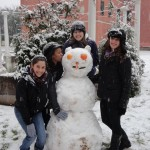 The JFORCE snowman!