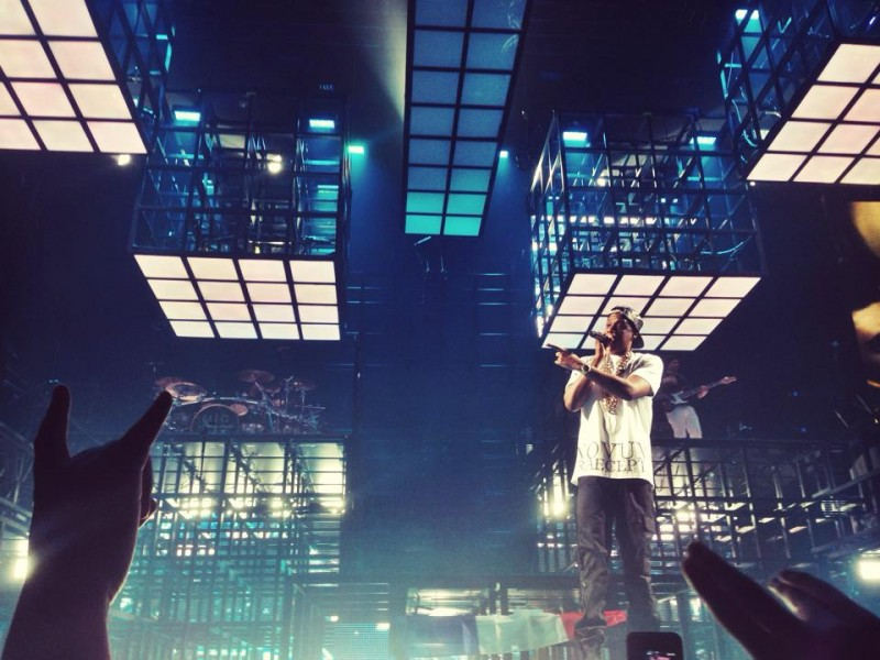 No Zoom Used to Photograph Jay-Z in Paris