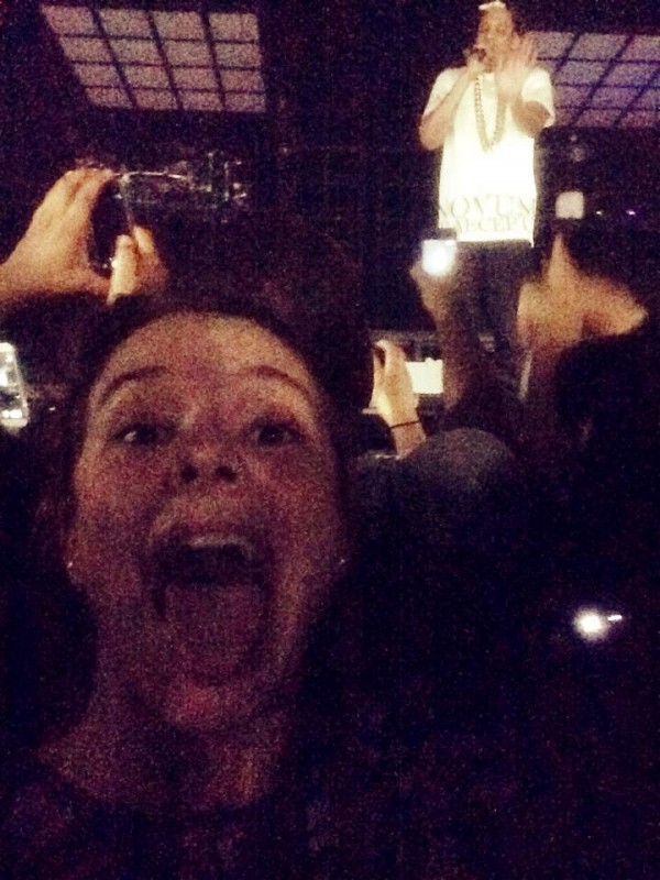 Megan Hanning-Bean's Selfie with Jay-Z