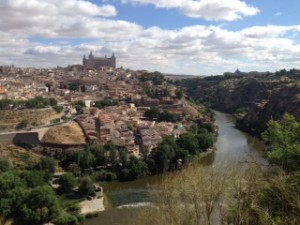 The beautiful city of Toledo!