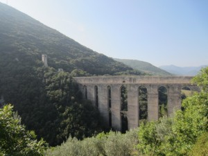 The Roman Bridge in Spoleto