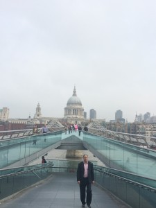 St. Paul's Cathedral as seen from the Millennium Bridge