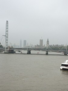 London in the morning