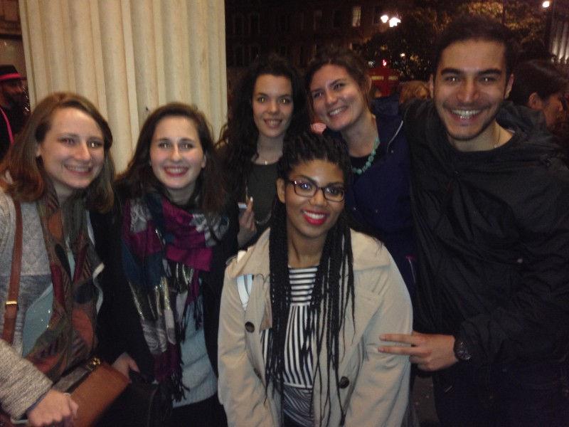 Caitlin joined a group of my classmates when we went to see The Lion King live! It was a beautiful show.