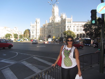 Madrid attractions are mostly beautifully designed buildings.
