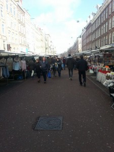The never ending Albert Cuyp Market. It had everything you can imagine