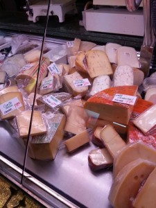 Amsterdam is all about the cheese, and I wanted to bring it all home