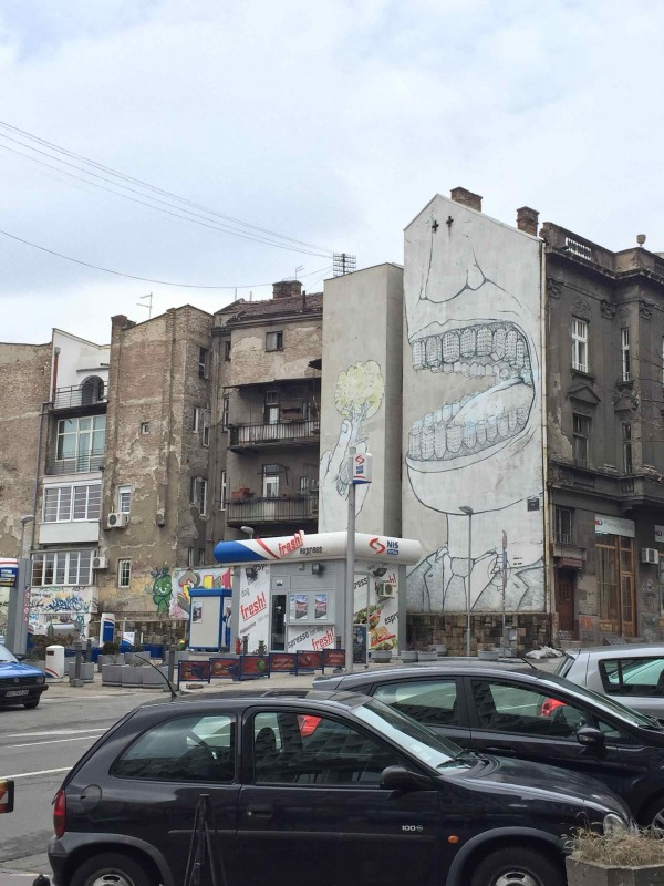 Belgrade Graffiti