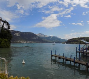 Lake Annecy, Annecy, France
