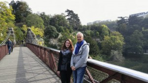 Parc des Buttes-chaumont with Uncle Brent.