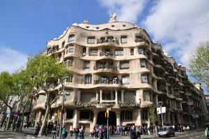 Forgot to take pictures of La Pedrera so here is one from google!