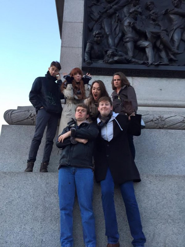 What happens when you let a bunch of Theatre students roam around London on their own.