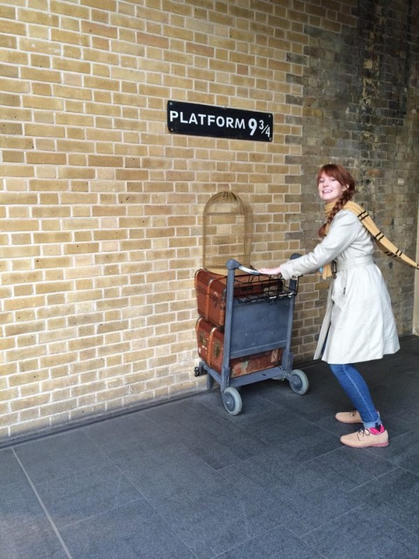 Especially when that path is through a wall on your way to Hogwarts!