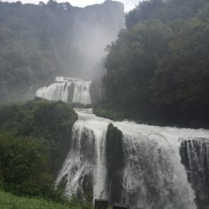 Waterfall at to Cascate delle Marmore in Todi