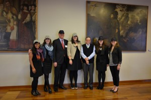 Group of Six with President Universidad de Los Andes