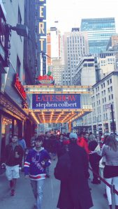 Quinlan Ramble to NYC – Late Show with Steven Colbert