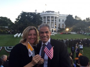 IPS Professor Speaks About Experience at White House and the Pope's Address