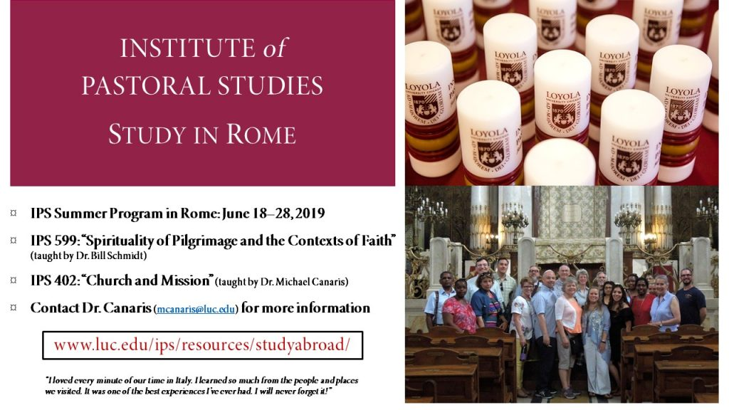 Experience Education at Loyola IPS in Rome