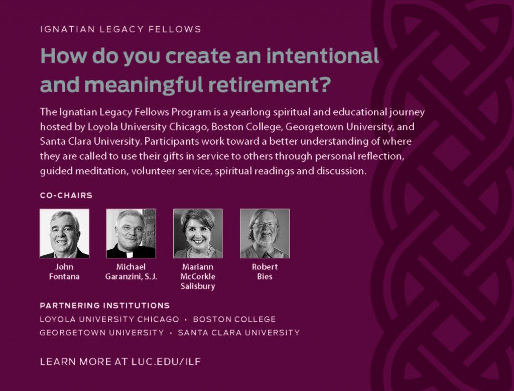 Henry Luce Foundation Supports Ignatian Legacy Fellows Retirement Initiative