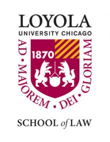 This image has an empty alt attribute; its file name is 250-loyola-university-chicago-school-of-law-logo-IMAGE-e1598468118519.jpg