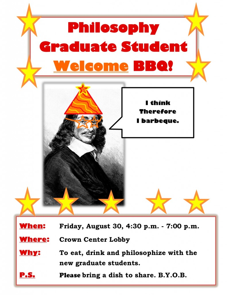 Welcome, new Loyolans! Let's eat!
