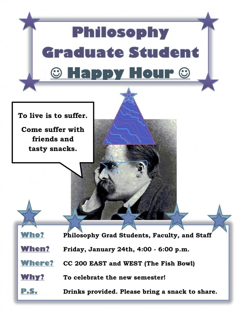 Grad Student Happy Hour!
