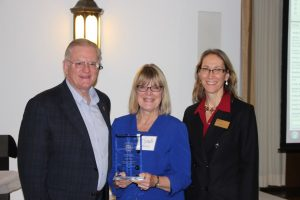 Cyndi Maxey and Nicholas Kourvetaris win the 2016 Excellence in Adult Learning Awards