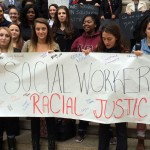 Monmouth U students march in solidarity with Missouri