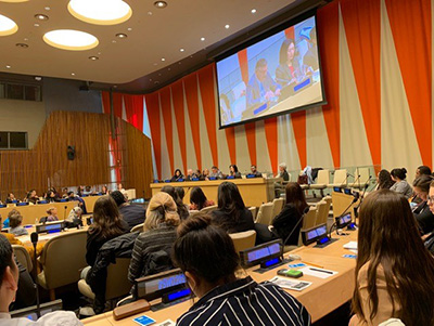 Social Work Day 2019 from UN Headquarters NYC