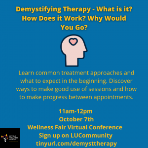 Demystifying Therapy - What is it? How does it work? Why would you go?