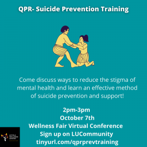 Event: QPR: Suicide Prevention Training