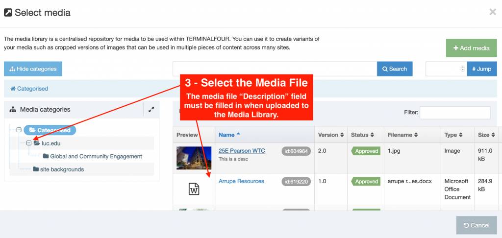 How To Add A Media Link