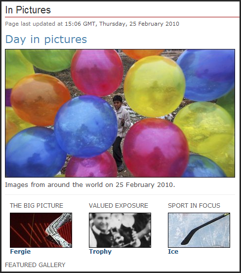 News in Pictures