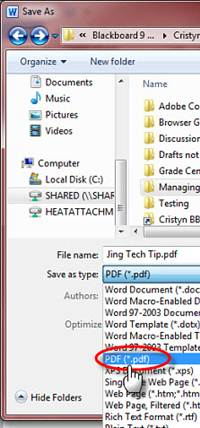 Easily Convert to PDF in Office 2010