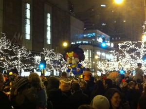 Festival of Lights on Michigan Ave.