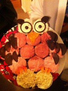 Owl Cupcakes From A College Dorm