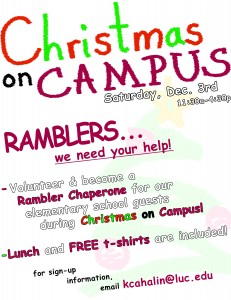 Christmas On Campus!