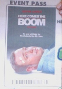 Pre-Screening Of &#8220;Here Comes The Boom&#8221;