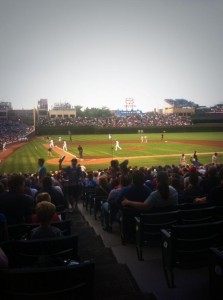 My First Cubs Game